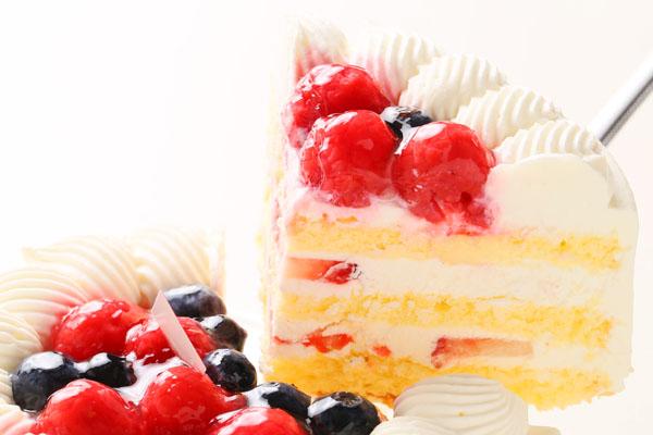 いちごの生デコレーションケーキ 5号の画像3枚目