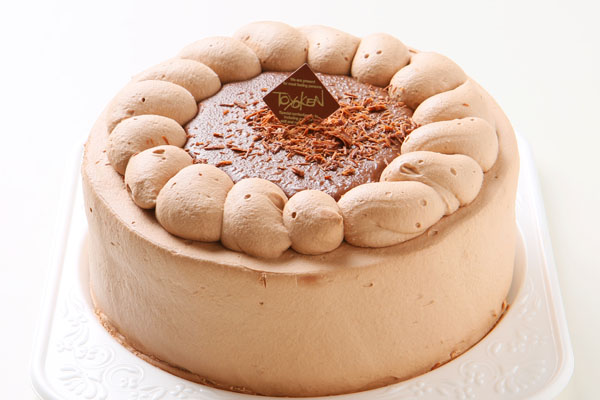 チョコレート生クリームデコレーション 5号 15cmの画像1枚目