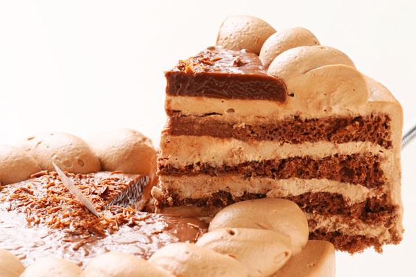 チョコレート生クリームデコレーション 5号 15cmの画像3枚目