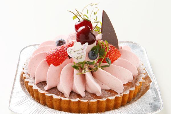 木苺のチーズケーキ 4号 12cmの画像1枚目