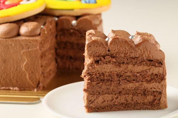 チョコレートクリームデコレーション 5号の画像4枚目