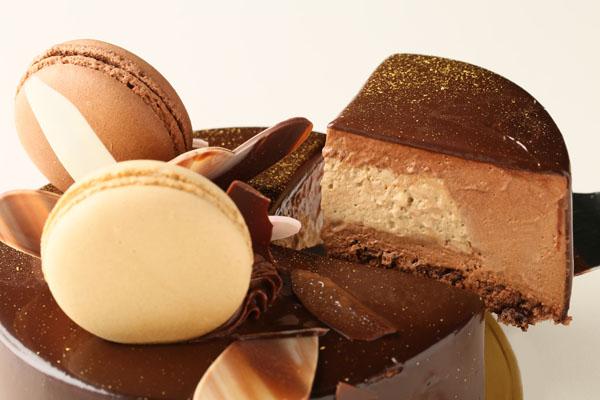 チョコとコーヒーのムース 4号 12cmの画像3枚目