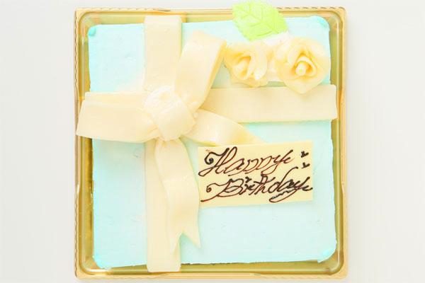 プレゼントボックスケーキ T 15×15cm(4〜5名様用)