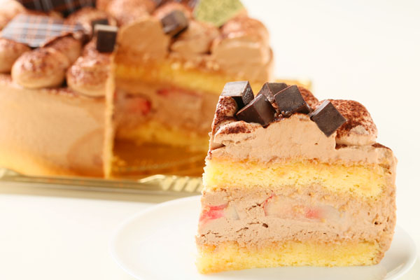 チョコレートケーキ 5号 15cmの画像5枚目