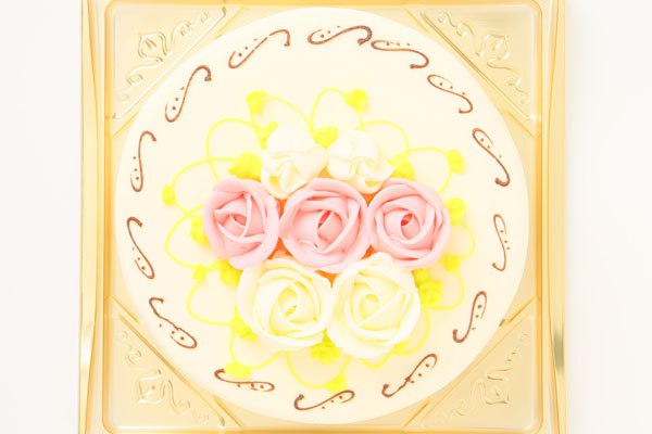 バタークリームデコレーション 5号 15cmの画像2枚目