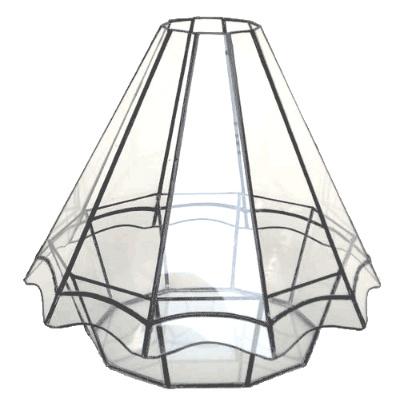 ハウス200【テラリウム 水槽 植木 ステンドグラス】の画像2枚目