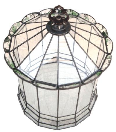 ハウス220【テラリウム 水槽 植木 ステンドグラス】の画像3枚目