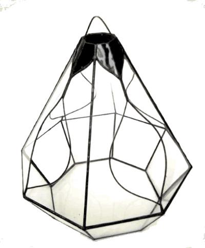 ハンガーダイアモンド【テラリウム 水槽 植木 ステンドグラス】の画像2枚目
