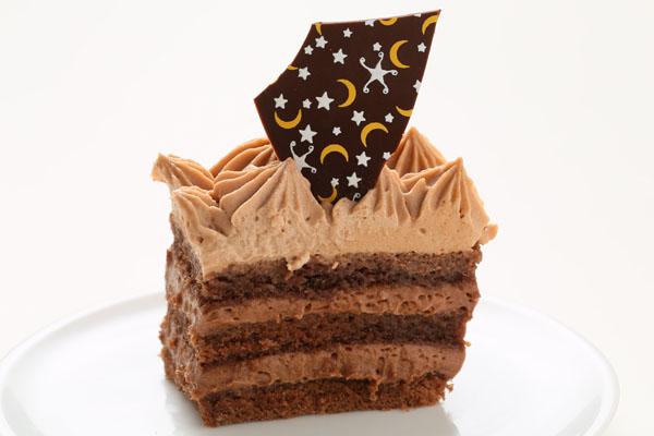 スクエア型フォトチョコ生クリームデコレーションケーキ 11cmの画像3枚目