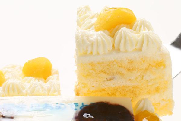 丸型フォトモンブランデコレーションケーキ4号の画像2枚目