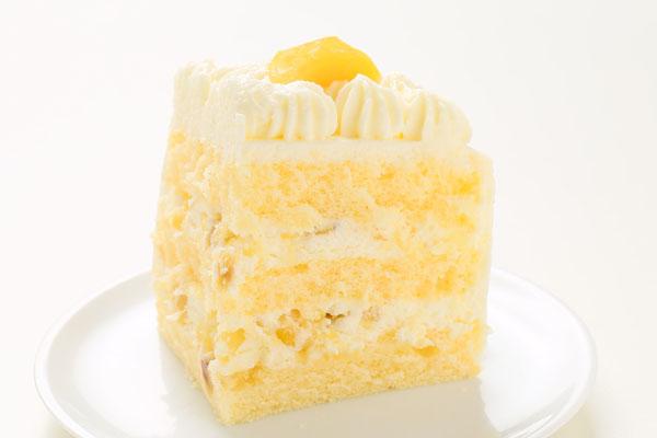 丸型フォトモンブランデコレーションケーキ4号の画像3枚目