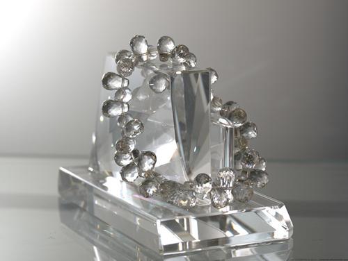 【送料無料】水晶(クリスタル)【誕生日 バースデー ギフト 贈り物 プレゼント お祝い アクセサリー ブレスレット】の画像1枚目