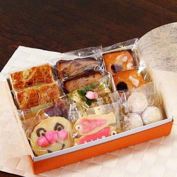 詰め合わせD【贈り物 プレゼント 詰め合わせ セット お祝い ギフト 贈答 菓子 焼き菓子】の画像1枚目