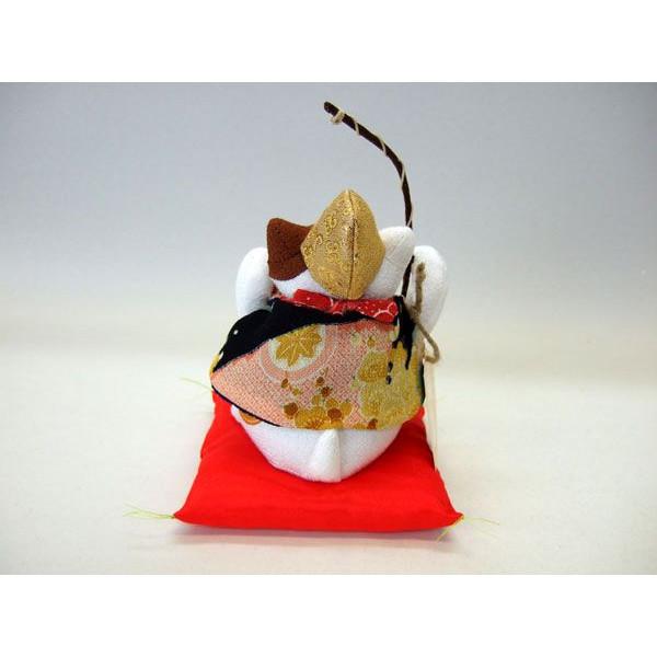 置物 招き猫 福猫 恵比寿様 七福神 和風 ぬいぐるみ ちりめん【和 雑貨 誕生日 バースデー ギフト 贈り物 プレゼント お祝い】の画像3枚目