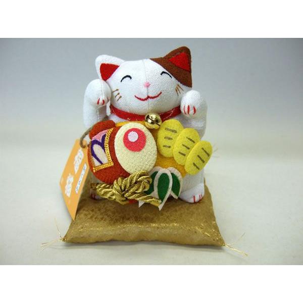 置物 招き猫 福猫 和風 小判 ぬ いぐるみ ちりめん 金運【和 雑貨 誕生日 バースデー ギフト 贈り物 プレゼント お祝い】