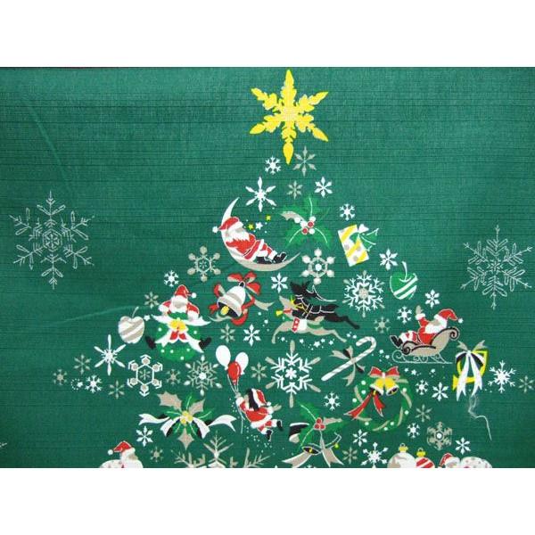 タペストリー 壁掛け 掛軸 クリスマス ツリー サンタクロース 彩時記シリーズ【誕生日 バースデー ギフト 贈り物 プレゼント お祝い】の画像3枚目