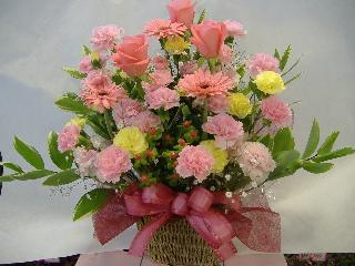 母の日 カーネーションアレンジメント【母の日 花 フラワーギフト プレゼント お祝い 誕生日 贈り物】