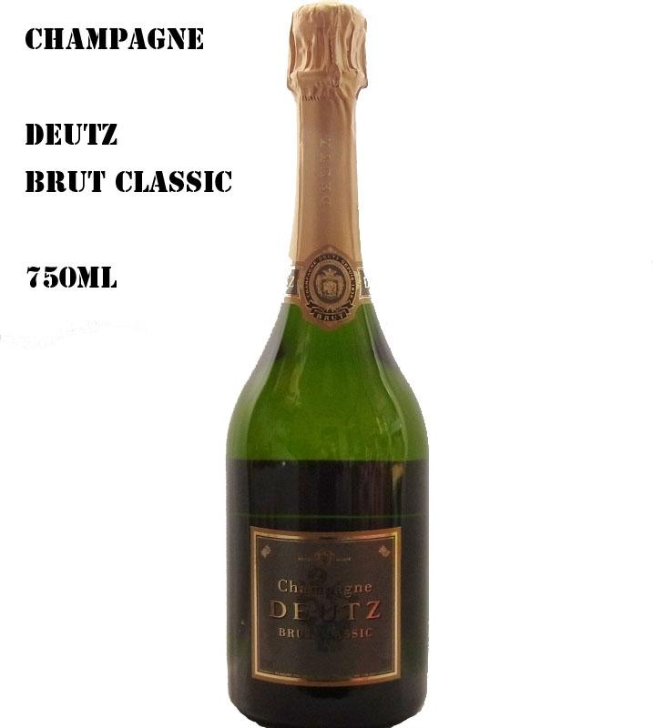 特別な日にふさわしい、格調高いシャンパーニュDeutz Brut Classic ドゥッツ・ブリュット・クラシック【ワイン アルコール お酒 誕生日 バースデー 記念日】【水・ソフトドリンク】記念日向けギフトの通販サイト「バースデープレス」