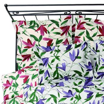 掛けふとんカバー[sybilla]Campanillas ダブル(190×210cm)【寝具 まくら 枕 ベッドウェア 睡眠 快適】の画像2枚目
