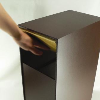 【ヤマト工芸】YK07-105 ゴミ箱 DOORS W 30L  ゴミ箱イズム【おしゃれ 木製 誕生日 バースデー ギフト 贈り物 プレゼント お祝い】の画像2枚目