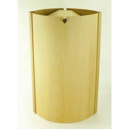 【ヤマト工芸】YK07-003 ゴミ箱 LEAF DUST W 13L  ゴミ箱イズム【おしゃれ 木製 誕生日 バースデー ギフト 贈り物 プレゼント お祝い】の画像1枚目