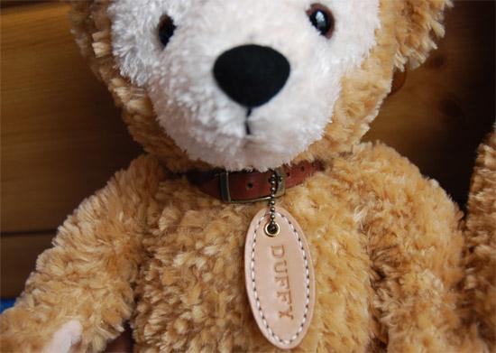 Duffy(ダッフィー)用首輪&ネームプレート::1205【バッグ・小物・ブランド雑貨 > 服飾小物(帽子・ネクタイ・ベルト等) > 革(レザー)ケア用品】記念日向けギフトの通販サイト「バースデープレス」