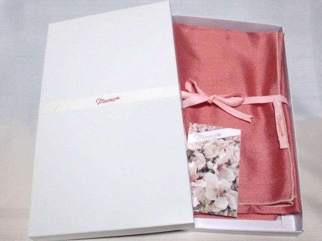 ストール桃【誕生日 バースデー ギフト 贈り物 プレゼント お祝い 桃の花 和】の画像3枚目