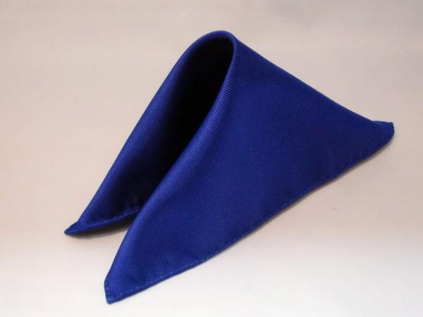 シルク100%日本製 綾織無地ポケットチーフ ブルー::1207【メンズファッション】記念日向けギフトの通販サイト「バースデープレス」