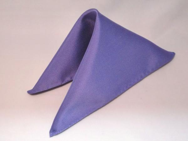 シルク100%日本製 綾織無地ポケットチーフ パープル::1207【メンズファッション】記念日向けギフトの通販サイト「バースデープレス」