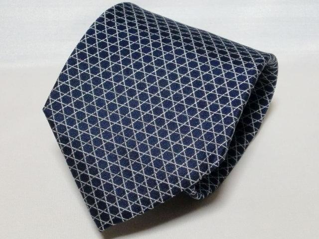 ネクタイ『和』 籠目 紺 【日本製 シルクジャカード】::1207【メンズファッション】記念日向けギフトの通販サイト「バースデープレス」