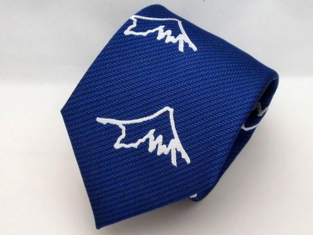 富士桜工房ネクタイ『和』 富士山(大) 紺色::1207【メンズファッション】記念日向けギフトの通販サイト「バースデープレス」