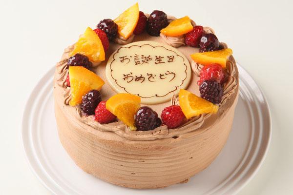 高級クーベル生チョコケーキ 5号 15cm