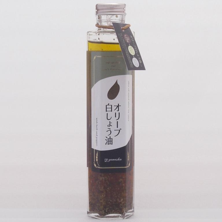 ヤマシン オリーブ白しょう油 200ml