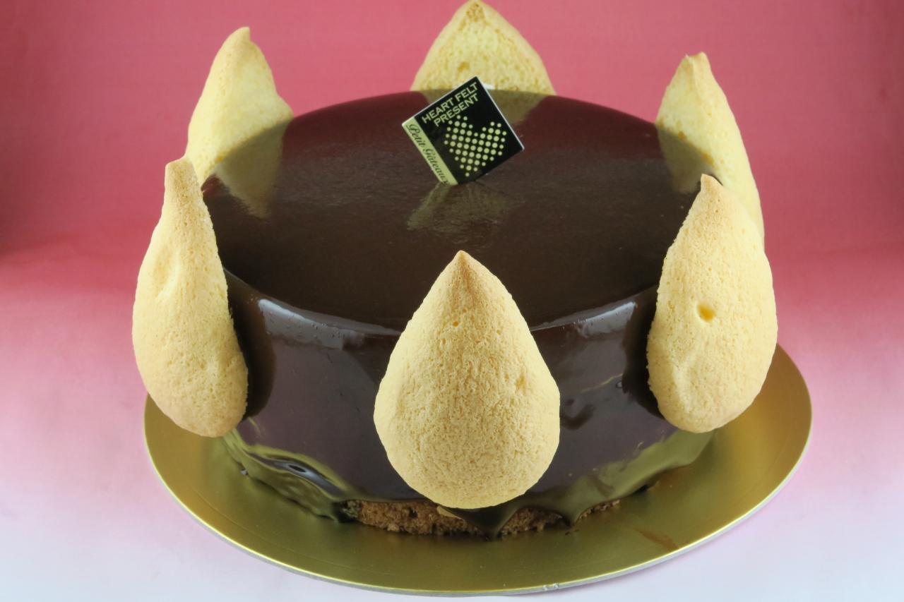 ミノワールショコラ【バースデーケーキ 誕生日ケーキ デコ いちご   バースディ】【バレンタイン ホワイトデー】
