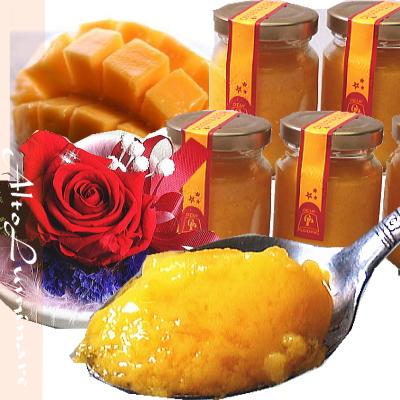 7月の誕生石プリザーブドフラワー&マンゴープリン6個セット【プリザーブドフラワー アレンジメント フラワーギフト プレゼント スイーツ お菓子】