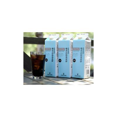 【送料無料】コーヒー飲料】リキッドアイスコーヒー 無糖(1000ml)12本セット【飲み物 ドリンク 誕生日 バースデー ギフト 贈り物 プレゼント お祝い】の画像1枚目