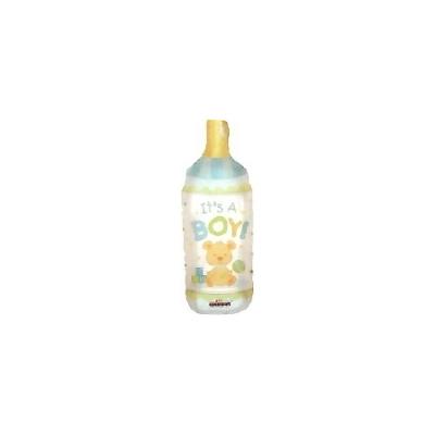 出産祝いバルーン 哺乳瓶【風船 かわいい 誕生日 バースデー ギフト 贈り物 プレゼント 出産祝い ベビー】の画像1枚目