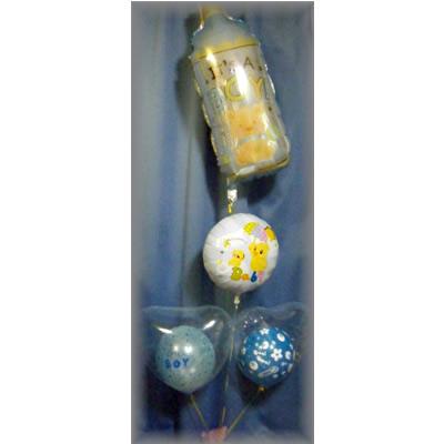 出産祝いバルーン 哺乳瓶【風船 かわいい 誕生日 バースデー ギフト 贈り物 プレゼント 出産祝い ベビー】の画像2枚目