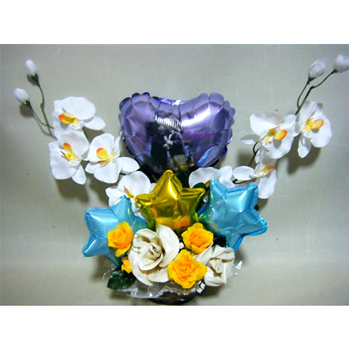 受付に最適おめでとうバルーン【風船 かわいい 誕生日 バースデー ギフト 贈り物 プレゼント 結婚祝い ウェディング】の画像3枚目