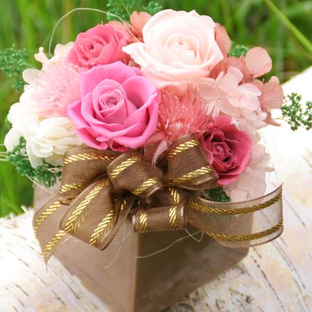 プリザーブドフラワー ギフト グラン【送料無料】【プリザーブドフラワー 花 フラワー 誕生日 バースデー プレゼント 贈り物 ギフト お祝い】