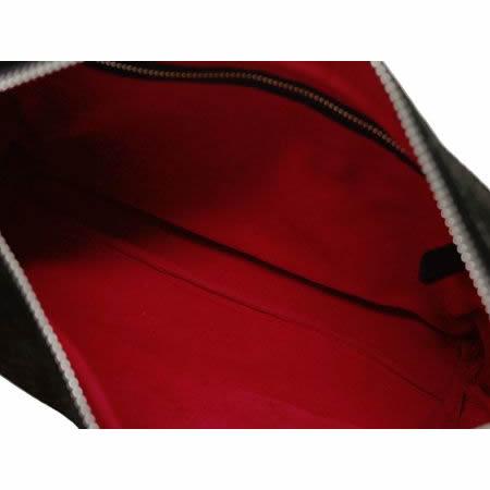 バッファロー本革 縦型セカンドバッグ(ブラック)【革 手作り ハンドメイド 誕生日 バースデー プレゼント 贈り物 ギフト お祝い】の画像3枚目