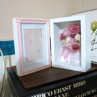 Photo Frame(ピンク)【花・ガーデン・DIY > フラワー】記念日向けギフトの通販サイト「バースデープレス」