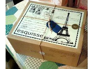 【一日5台限定】木苺のチョコレートバースデーケーキ 14cmの画像3枚目