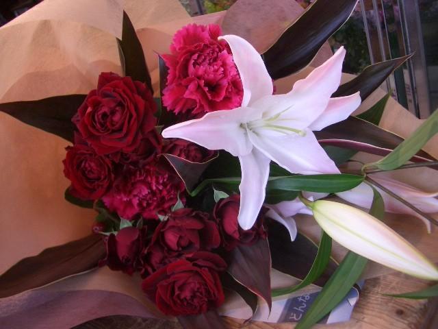 おおきな花束【花 フラワー 誕生日 バースデー プレゼント 贈り物 ギフト お祝い】の画像1枚目