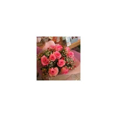 ローズ【花 花束 フラワー 誕生日 バースデー プレゼント 贈り物 ギフト お祝い】の画像1枚目