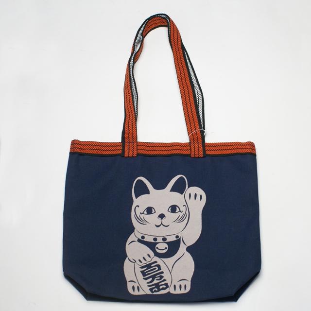 和柄 AKINDO トートバッグ「招き猫」::1402【バッグ・小物・ブランド雑貨】記念日向けギフトの通販サイト「バースデープレス」