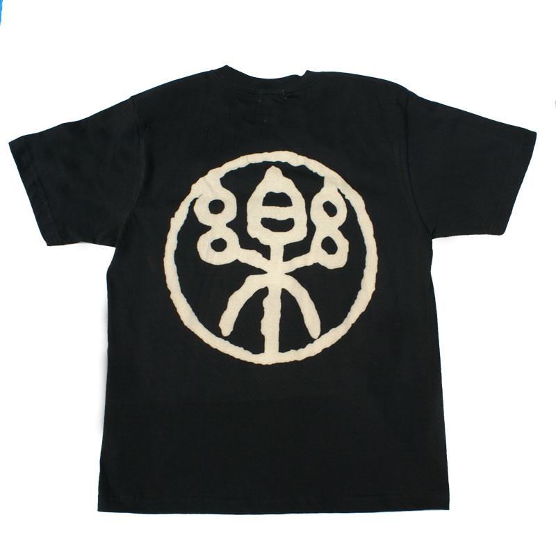 和柄 江戸てん 抜染Tシャツ「烙印楽」(黒)::1402【バッグ・小物・ブランド雑貨】記念日向けギフトの通販サイト「バースデープレス」