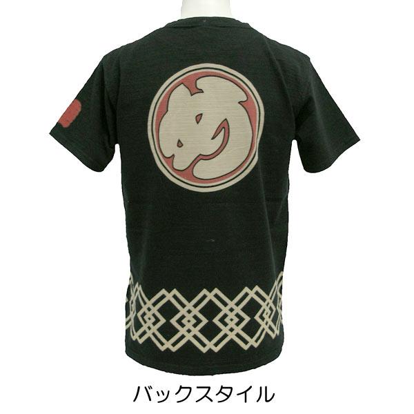 和柄 睦流 Tシャツ「め組」柄
