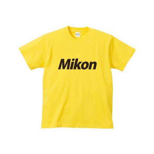 オリジナルパロディTシャツ 「Mikon/未婚」(黄)::1402【バッグ・小物・ブランド雑貨】記念日向けギフトの通販サイト「バースデープレス」