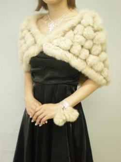 セレブ系◆フワフワラビットファー2WAYストール♪パーティに♪結婚式に♪婚活に♪::1411【レディースファッション】記念日向けギフトの通販サイト「バースデープレス」